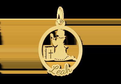 Gouden communie cadeau meisje
