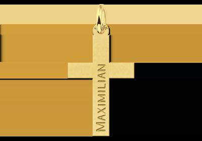 Gouden communie kruisje