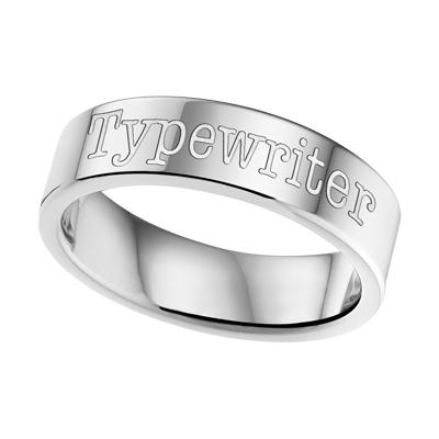 Gegraveerde Ring Staal 6mm ? Graveer Hier Uw Ring Staal 6mm✅